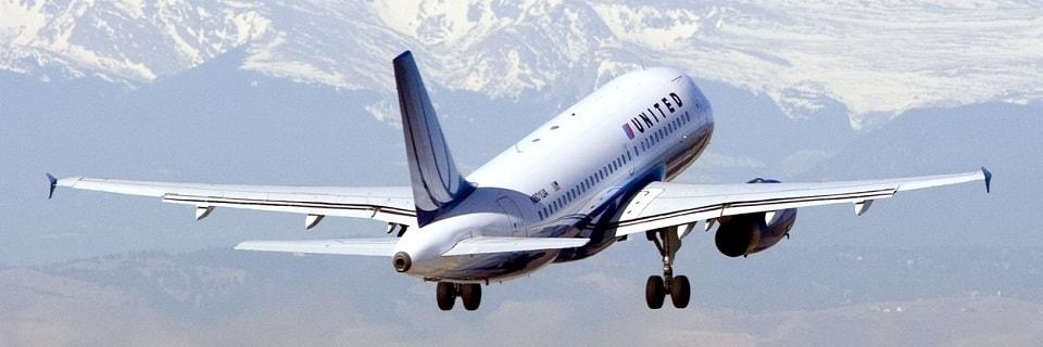 Avión United Airlines